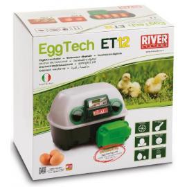 RESERVA CON DESCUENTO Incubadora River Systems digital automática 12 huevos / 48 cordoniz