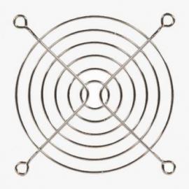 Rejilla metálica para ventiladores de 80x80mm tipo SUNNON o SKL