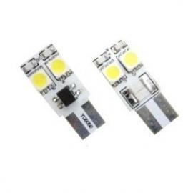 Pareja de bombillas LED Cambus para posición, luz interior o matrícula con 4 LED