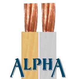 Cable ALPHA Transparente 100m 2x1,5mm