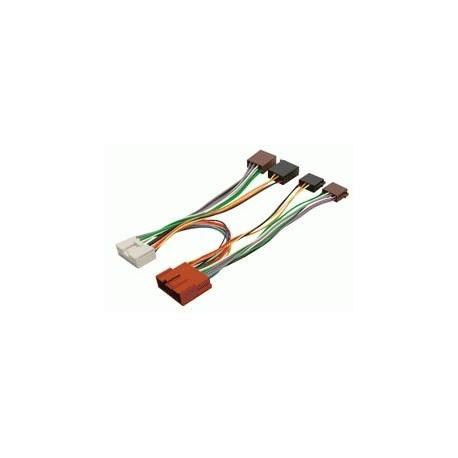 Cable ISO para alimentación altavoces y manos libres MAZDA