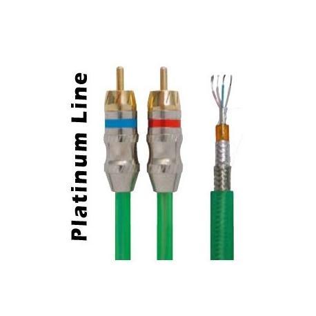 Cable RCA Extensión 5M VERDE