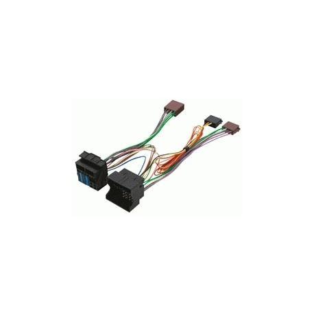 Cable ISO para altavoces y manos libres PEUGEOT 407