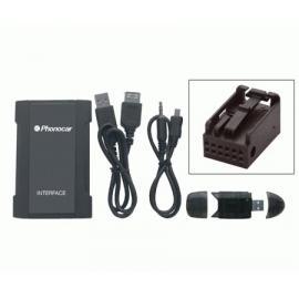 Interface entrada Auxiliar CIT-PEUG SB-MP3+SD