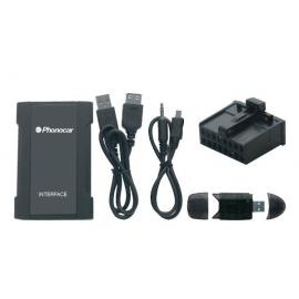 Interface entrada Auxiliar MAZDA SD-USB-MP3