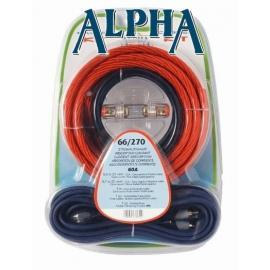 Kit de Instalación Cable de 21mm y RCA P. Amplificador 80A