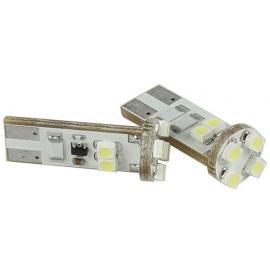 Pareja de bombillas LED Cambus para posición, luz interior o matrícula con 8 LED