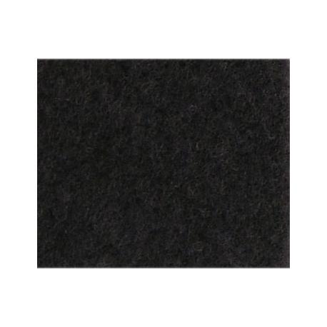 Moqueta Negra Lisa 140x70cm