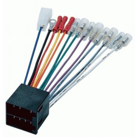 Cable adaptador conexión autoradios VW OPEL PIONEER
