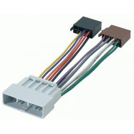 Cable adaptador conexión autoradios HONDA ISO