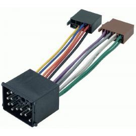 Cable adaptador conexión autoradios BMW ISO