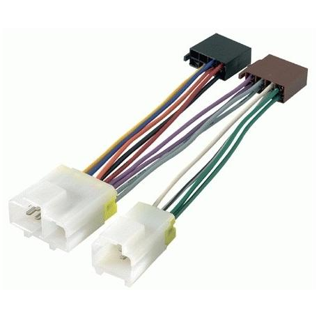 Cable adaptador conexión autoradios NISSAN ISO
