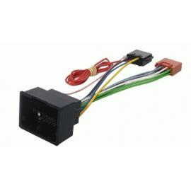 Cable adaptador conexión autoradios OPEL ISO
