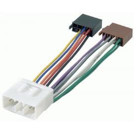 Cable adaptador conexión autoradios SUBARU ISO