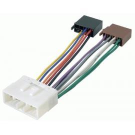 Cable adaptador conexión autoradios DAEWOO SSANGYONG ISO