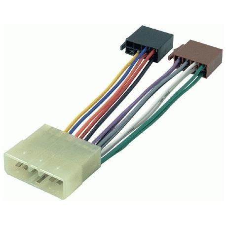 Cable adaptador conexión autoradios NEXIA ISO