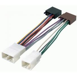 Cable adaptador conexión autoradios TOYOTA ISO