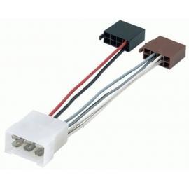 Cable adaptador conexión autoradios FIAT 500 ISO
