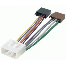Cable adaptador conexión autoradios HYUNDAI ISO