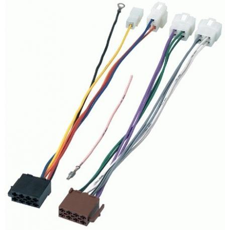 Cable adaptador conexión autoradios KIA SPORT ISO