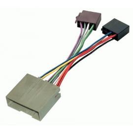 Cable adaptador conexión autoradios FORD FIESTA ISO