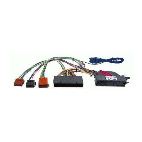 Cable adaptador conexión autoradios AUDI A4 A5