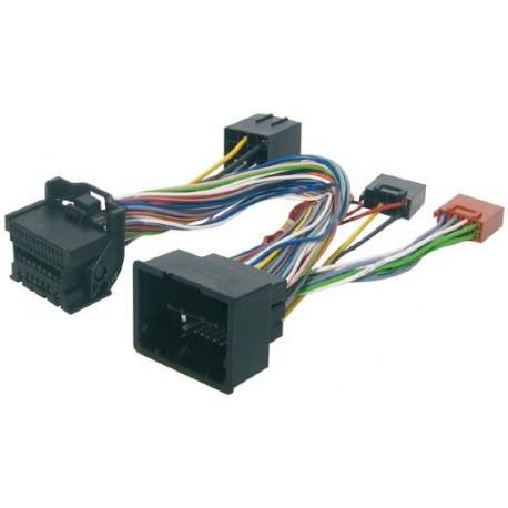 Cable adaptador conexión autoradios OPEL