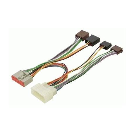 Cable adaptador conexión autoradios FORD