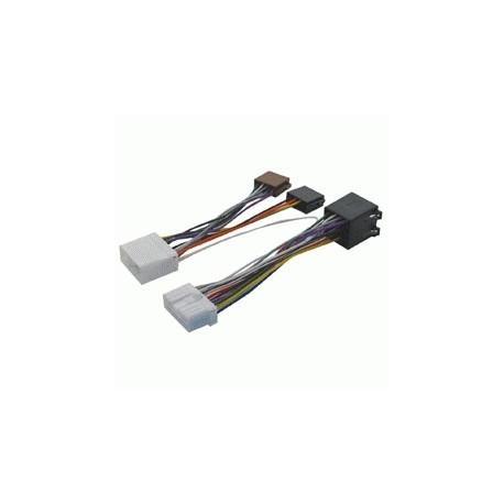 Cable adaptador conexión autoradios SUBARU