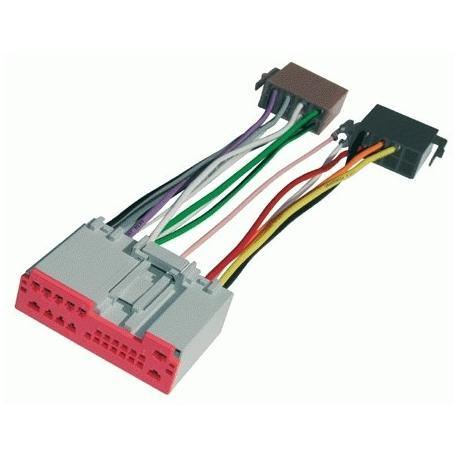 Cable adaptador conexión autoradios MONDEO ISO