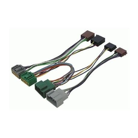 Cable adaptador conexión autoradios VOLVO