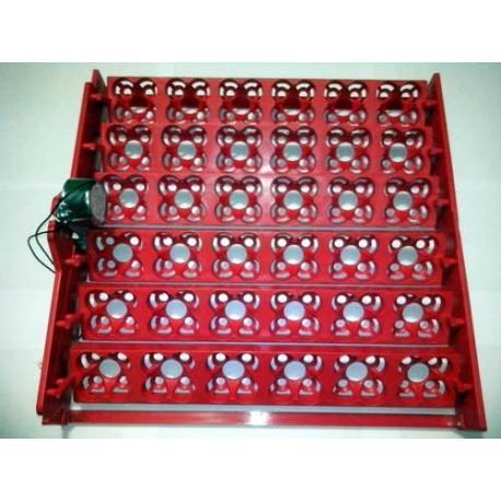 Bandeja para volteo automático de huevos en incubadora casera_1