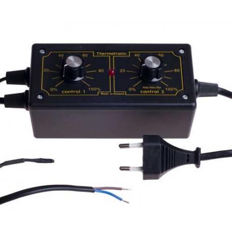 Termostato proporcional electrónico para incubadoras caseras