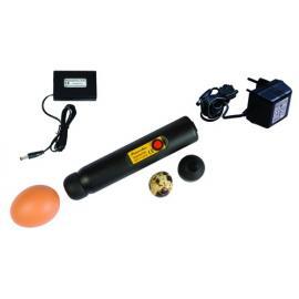 """Ovoscopio """"Powerlux"""" con gran potencia en LED + adaptador para pilas"""