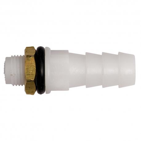 Conexion para mangueta de 10mm para tubo para Bebederos