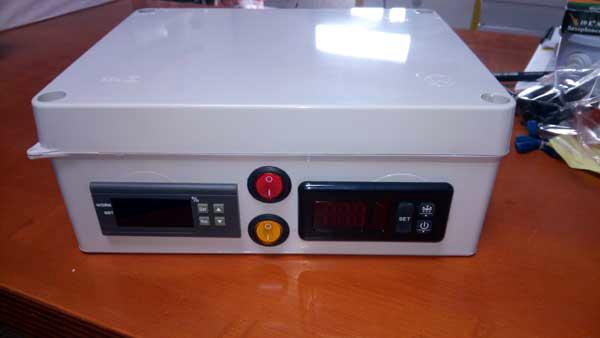 ejemplo de montaje para incubadora