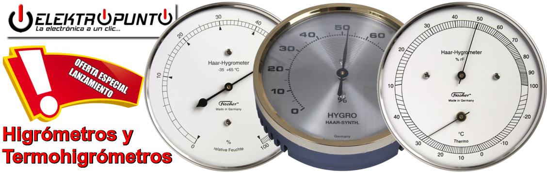 termometros e higrometros