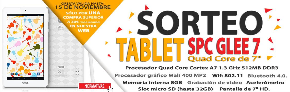 Sorteo Tablet SPC Glee 7''
